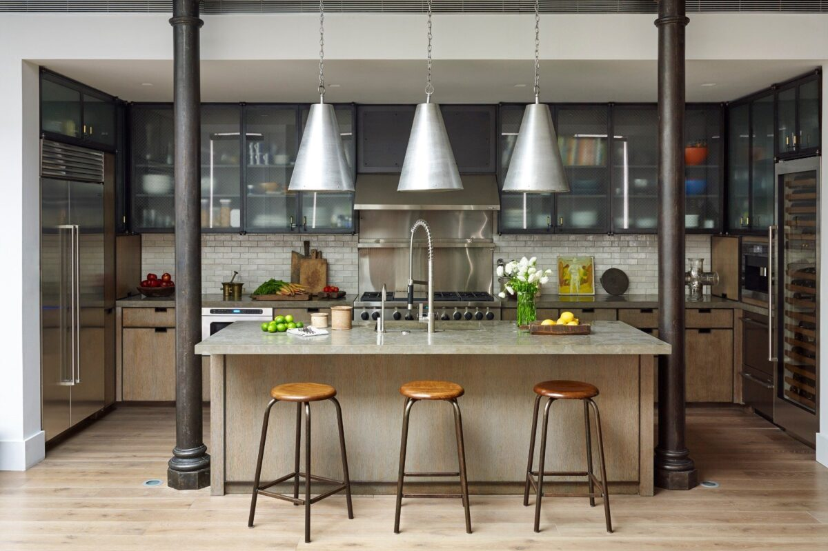In Need of Kitchen Design Ideas? Here are Five Stylish Kitchens with Sleek Surfaces